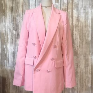 NWT! Forever 21 double breasted career jacket m